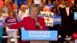 美國大選最後階段 克林頓與川普力爭佛羅里達州