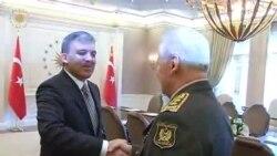 Azərbaycan Müdafiə naziri Səfər Əbiyevi Türkiyə prezidenti Abdulla Gül qəbul edib