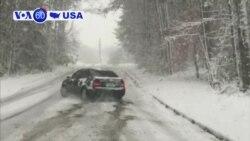 Manchetes Americanas 10 Dezembro: Forte tempestade de neve atinge sul dos EUA