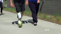 Artificial Legs Mimic Real Ones