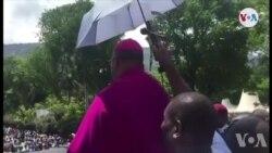Ayiti: Mesaj Monseyè Ducange Sylvain nan Okazyon Fèt Pak la