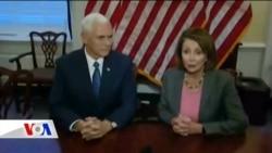 Mike Pence Kongre Liderleriyle Görüştü
