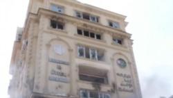 埃及抗議者衝擊穆兄會總部