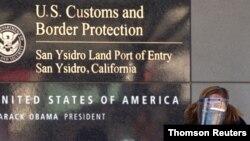 Puerto de entrada de San Ysidro, en la frontera entre Estados Unidos y México.