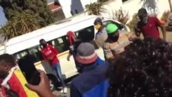 Zimbabweans Protest Against Corruption at Pretoria Embassy
