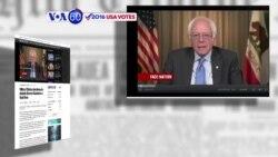 Manchetes Americanas 24 Maio: Impasse entre Sanders e Clinton aguarda por Califórnia