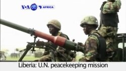 VOA60 Africa 07-01-U.N. peacekeeping mission withdraws after 13 years and two civil wars