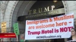 Maryland, thủ đô Washington kiện về những khoản thanh toán cho khách sạn Trump
