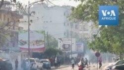Affaire Ousmane Sonko: fumée noire et jets de pierres à Dakar