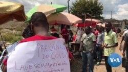 Covid19: Professor moçambicano com a missão da prevenção