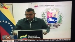 Ministro del Interior habla sobre sismo en Venezuela