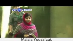 VOA60 Afirka: Malala Yousafzai, Najeriya, Yuli 14, 2014