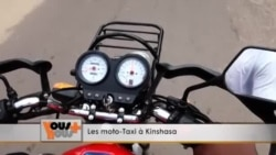 Le taxi-moto à Kinshasa