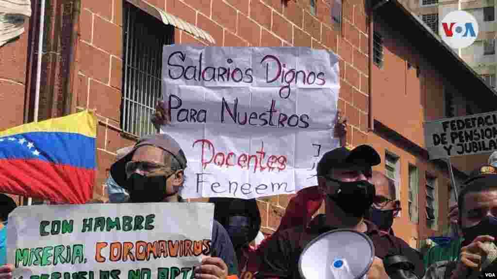 El presidente interino del país, Juan Guaidó, hizo un llamada a la sociedad civil y demás gremios a acompañar la protesta de los docentes.
