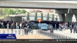 Protesta e opozites ne Shqiperi