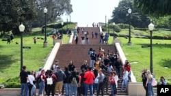 미국 캘리포니아주 로스앤젤레스의 UCLS 캠퍼스.