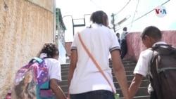 Venezuela: Niños dejados atrás por la migración experimentan depresión y rabia