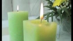 Na hastalu gori svijeća (preuzeto od TV Liberty)