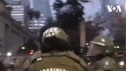 Chile: Cảnh sát xịt vòi rồng trong cuộc biểu tình sinh viên
