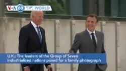 VOA60 Addunyaa - G-7 Summit begins in England