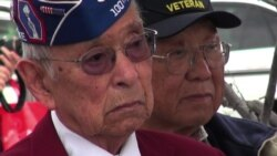WWII Anniversary Stirs Memories for Japanese American War Vets
