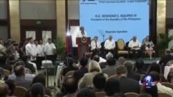 阿基诺:中国加紧开发有争议岛礁
