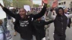 Продолжуваат протестите во Балтимор