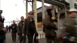 2015-03-04 美國之音視頻新聞: 烏克蘭東部煤礦爆炸 至少33人死亡