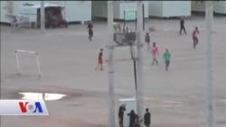 Yunanistan'da Mülteci Futbol Takımı
