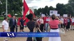 Uashington, protestojnë shqiptaro-amerikanët