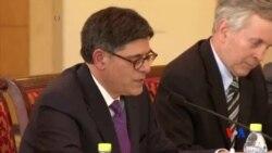 2014-05-13 美國之音視頻新聞: 美國財長敦促中國加緊匯率改革