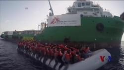 利比亚危险增加 到意大利的移民激增