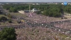 Belarus'ta ''Özgürlük Yürüyüşü''