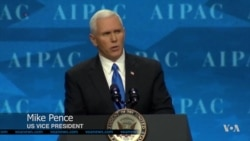 Trump Officials Draw AIPAC Cheers for Tougher Line on Israel's Adversaries