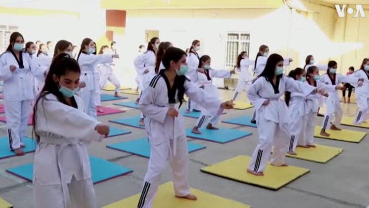 Martial Arts Training Boosts Self-Confidence of Girls in Iraq