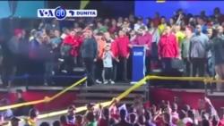VOA60 Duniya: A Venezuela An Sake Zaben Nicolas Moduro