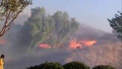 Požari na jugu i severu Kalifornije