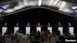 Med 7 Zirvesi, Fransa, İtalya, İspanya, Malta, Portekiz, Yunanistan ve Güney Kıbrıs Rum Kesimi liderlerinin katılımıyla gerçekleştirildi.