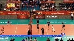 والیبال ایران ششم جهان