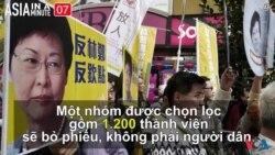 Hong Kong sắp bầu chọn lãnh đạo mới (VOA60 châu Á)