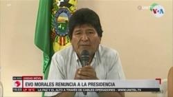 """Trump: la salida de Morales es un """"mensaje"""" para Venezuela y Nicaragua"""