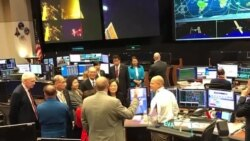 2018-08-20 美國之音視頻新聞: 蔡英文過境休斯頓參訪美國太空總署