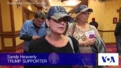 Trump, Cruz Supporters Stump in Nevada