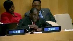 Mugabe Pledges to Reduce Greenhouse Emissions At Historic UN Climate Change Gathering