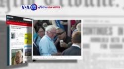 Manchetes Americanas 16 Junho: Bernie Sanders promete lutar contra Comité Nacional Democrata