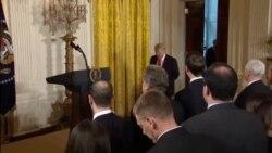 Trump News Conf Intel