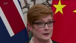 澳大利亚外长与中国外长讨论了新疆问题