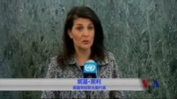 美国新任联合国大使走马上任 誓言将有新型US-UN