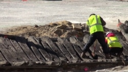 Remnants of 18th Century Ship Uncovered On Virginia Construction Site