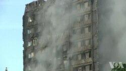 Au moins 12 morts dans l'incendie d'un immeuble à Londres (vidéo)